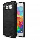 Samsung Galaxy Grand Prime Kılıf Rush Arka Kapak + Ekran Koruyucu Temperli Cam G530