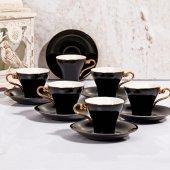 Lüx Fincan Takımı 6lı Kahve Fincan Takımı
