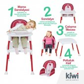 Kiwi Safe&comfort 3 In 1 Multi Mama Sandalyesi