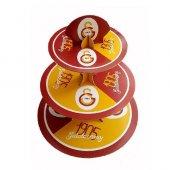 Galatasaray Lisanslı Kek Standı 3 Katlı Pasta Standı Parti