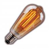 Vialicht 2w(20w)led Rustik St64 Deco E27 170lmn 270 � 2000k Gold