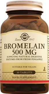 Solgar Bromelain 500 Mg 30 Tablets