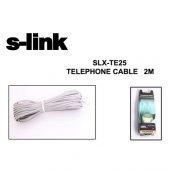 S Link Slx Te25 2m Rj12 Telefon Kablosu