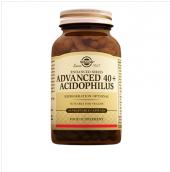 Solgar Advanced 40+ Acidophilus 60 Vegetable Kapsul