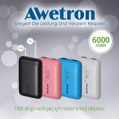 Awetron Awe 900b 6000mah Powerbank