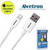 Awetron Apple İphone Lisanslı Kablo (5 Yıl Garanti)