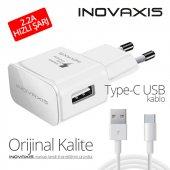 Orijinal Kalite Inovaxıs Type C Şarj Cihazı+kablo Hızlı Şarj