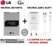Lg G4 Orjinal Batarya + Lg G4 Şarj Cihazı + Usb Şarj Kablosu Se