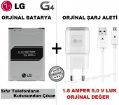 Lg G4 Orjinal Batarya Pil + Lg G4 Orjinal Şarj Aleti Cihazı + Usb