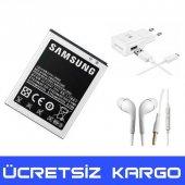 Samsung Galaxy J2 Batarya Pil J200 + Şarj Aleti + Kulaklık