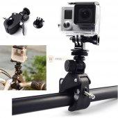 Sjcam Kameralar İçin Zıpkın Bisiklet Motosiklet Gidon Aparatı