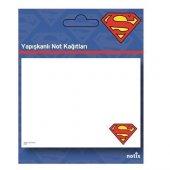 Umur Superman Desenli Yapışkanlı Not Kağıdı 50 Yaprak 100x75 Mm