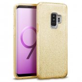 Samsung Galaxy S9 Plus Shining Gold Silikon Kılıf