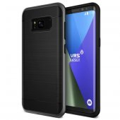 Verus Samsung Galaxy S8 High Pro Shield Kılıf Dark Silver