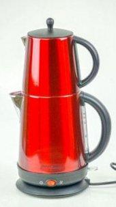 Awox Demplus Paslanmaz Çay Makinesi Kırmızı