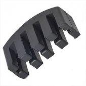 Carlovy Siyah Plastik Keman Sürdini