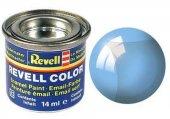 Revell Blue Clear Silk 14 Ml Maket Boyası