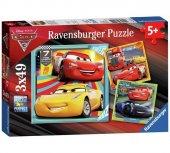 100 Parça Puzzle Ravensburger Cars 3