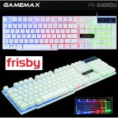 Frisby Fk G500qu Gamemax Usb Rgb Işıklı Gaming Oyuncu Klavyesi