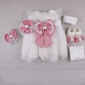Mss Papy Baby Prenses Özel Gün Elbises 782 Pembe