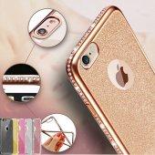 Samsung Galaxy Note 5 N920 Kılıf Swarovski Taşlı Laser Silikon