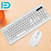 Fd Klavye Mouse Set Business Waterproof Kablosuz Wireless İk3350