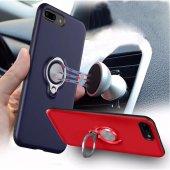 Iphone 7 Kılıf Yüzük Tutucu Mıknatıs Extreme Silikon