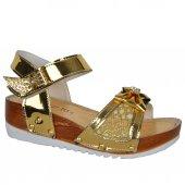 Cansu 2075 Cırtlı Yazlık Rahat Günlük Kız Çocuk Sandalet Ayakkabı