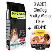 Pro Plan Adult Medium Sensitive Kuzulu Kuru Köpek Maması 16,5 Kg