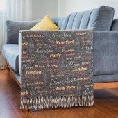 Battaniye Çift Kişilik 180 Cm X 220 Cm Dijital Baskı