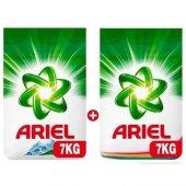 Ariel Toz Çamaşır Deterjanı Dağ Esintisi 7 Kg + Parlak Renkler 7 Kg