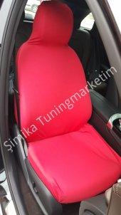Opel Fit Kalıp Ön Ve Arka Servis Koltuk Kılıf+2 Li Yastık+2 Li K