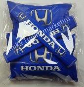 Honda Yastık Lastikli 2 Li Ve 2 Kemer Kılıfı