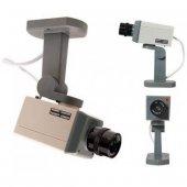Hareket Sensörlü Caydırıcı Gerçek Görünümlü Güvenlik Kamerası