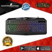 Tigoes Q7 Mekanik Hisli Led Işıklı Usb Gaming Oyuncu Klavye