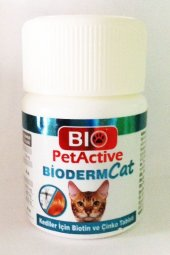Pet Active Bioderm Kediler Için Deri Ve Tüy Sağliğini Koruyucu Bi