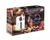 Kakao Seti Kakao Yağı Kremi 200ml + Peeling Sabunu Mecitefendi