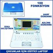Oyuncak 100 Fonksiyonlu Eğitici Laptop Çocuklar İçin Zeka Gelişti