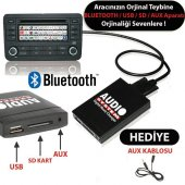 2010 Vw Gtı Bluetooth Usb Aparatı Audio System Vw12 Pin