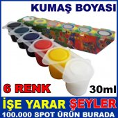 My Dido 6 Farklı Renkte Örtücü Kumaş Boyası 3
