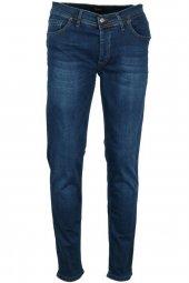 Erkek Kot Pantolon Slim Fit Mavi Rar00230