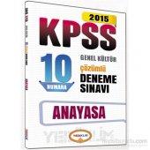 Yediiklim Kpss 2015 Anayasa Çözümlü 10 Deneme