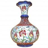 Oğuz Çini 25 Cm Tombul Vazo