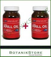 2 Adet Aniqnaturals Superba Boost Krill Yağı 60 Licaps Krill Oil