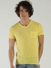 Ets 1014 Sarı Erkek Tişört