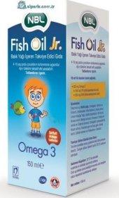 Nbl Fish Oil Jr. Çocuk Balık Yağı 150 Ml Skt 08 2019