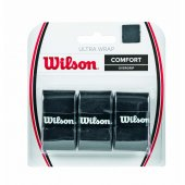 Wilson Grip Ultra Wrap Overgrip Bk 3 Pk Aksgrpwıl005