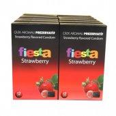 Fiesta Prezervatif 144 Adet Çilek Aromalı Condom