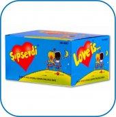 şıpsevdi Çilek Muz Aromalı Şekerli Balon Sakız 5 G...
