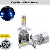 Mavi Beyaz Çift Renk H4 Led Xenon